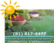 Houston Sprinklers Installation