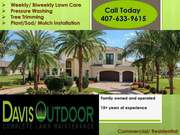 Davis Outdoor Complete Lawn Maintenance